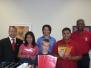 Silver Spring Alumni Dontates School Supplies for 2007/8 School Year