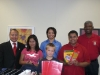 Silver Spring Alumni Dontates School Supplies for 2007/8 School Year