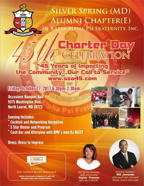45th Charter Day Celebration!