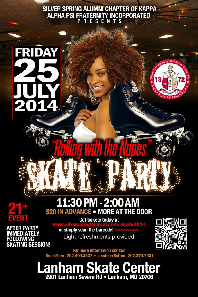 Rollin' With the Nupes - Skate Party 2014