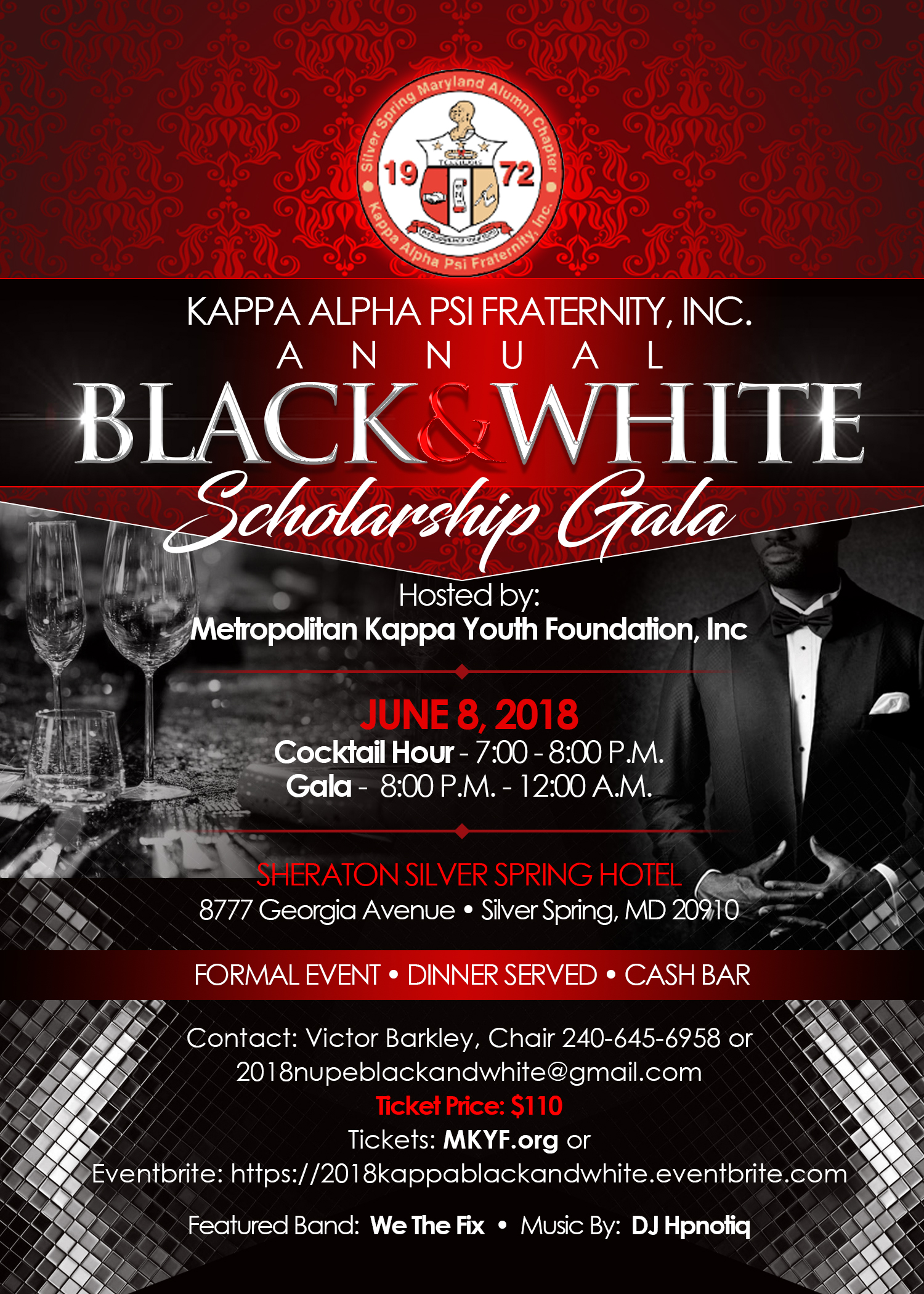 2018 MKYF Black and White Ball